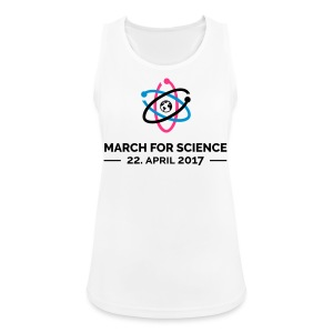 March for science - Frauen Tank Top atmungsaktiv - Frauen Tank Top atmungsaktiv