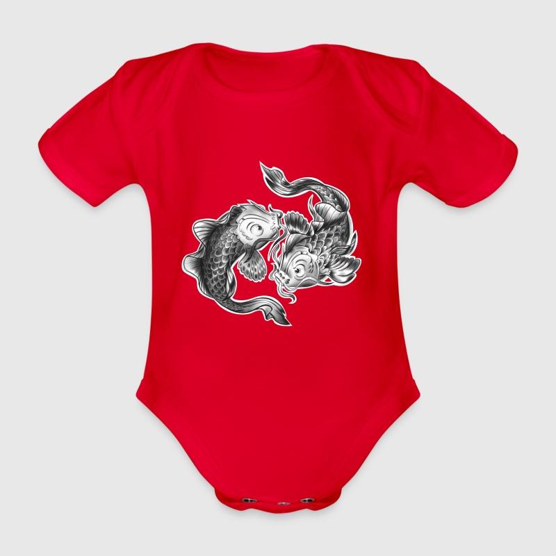 sternzeichen fisch baby body spreadshirt. Black Bedroom Furniture Sets. Home Design Ideas