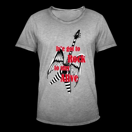 Ive got to rock - Vintage-T-shirt herr