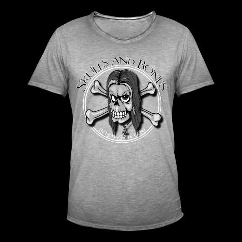 Skulls_Bones - Vintage-T-shirt herr