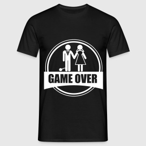 Game over , Stag do,couples - Men's T-Shirt