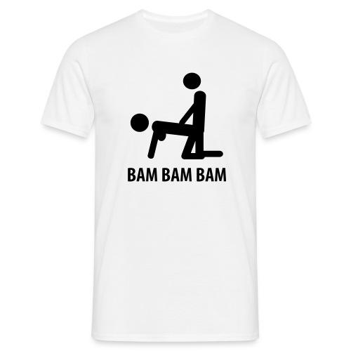 Bam Bam paita - Miesten t-paita