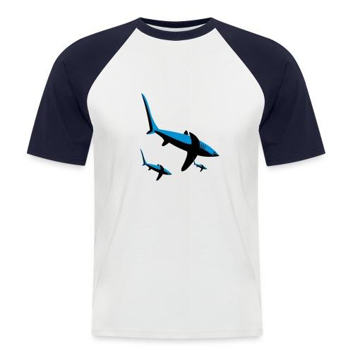 Haishirt - Männer Baseball-T-Shirt