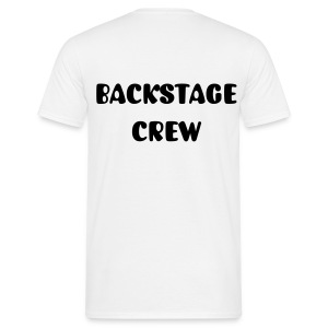 Backstage crew mens tee - Men's T-Shirt