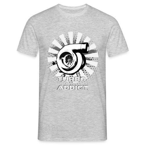 T-Shirt Turbo B&W - Men's T-Shirt
