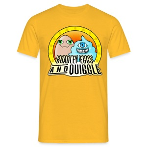 Bradley Eggs & Quiggle - Yellow/Orange - Men's T-Shirt