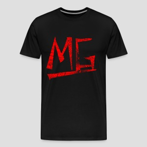 MG Logo RED - Männer Premium T-Shirt