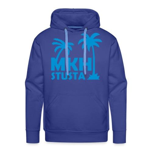 königsblau-hellblau - Männer Premium Hoodie