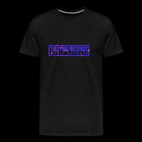 TRLLYWD Records | Purple Pink | Black Shirt - Männer Premium T-Shirt