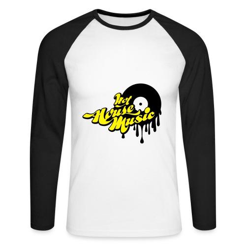 Hot House Music - Men's Long Sleeve Baseball T-Shirt
