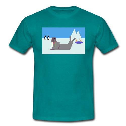 Das Walross Erwin - Männer T-Shirt