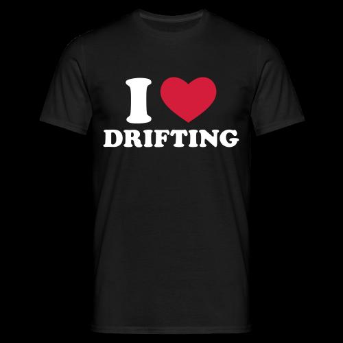 I Love Drifting Mens T - Men's T-Shirt