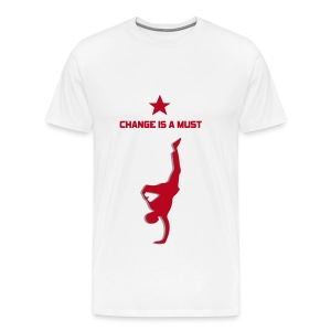 Change is a must by StreetMindz ( smz ) - Männer Premium T-Shirt