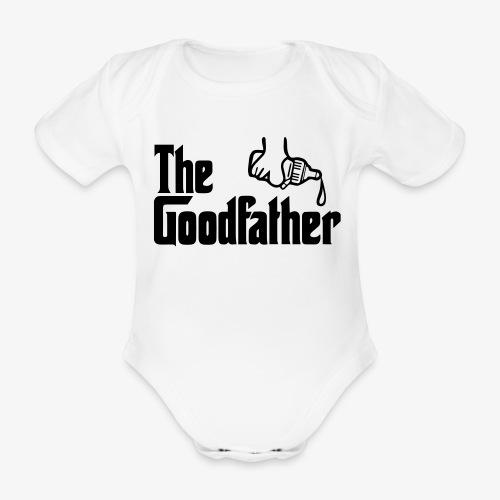 The Goodfather - Organic Short-sleeved Baby Bodysuit