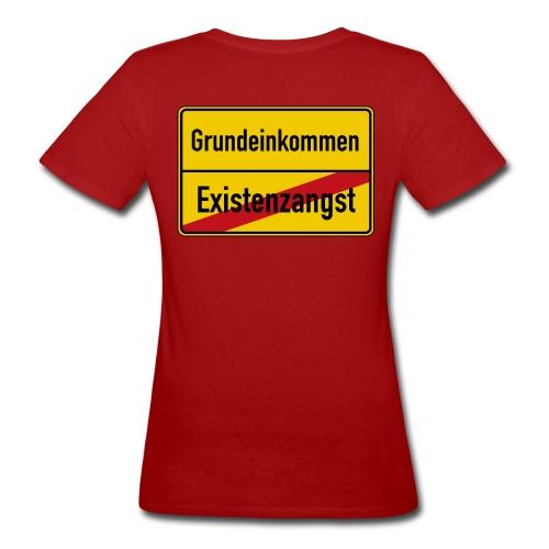 Bedingungsloses Grundeinkommen BGE - Frauen Bio-T-Shirt