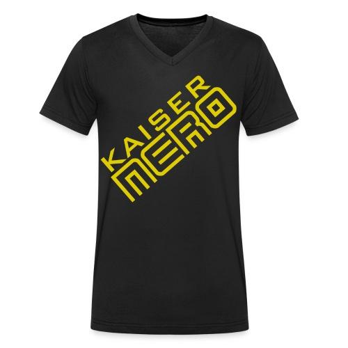 686 : black - Men's Organic V-Neck T-Shirt by Stanley & Stella