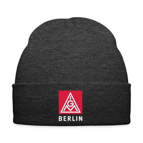 Ausweis für kühle Köpfe in der Berliner IG Metall - Wintermütze