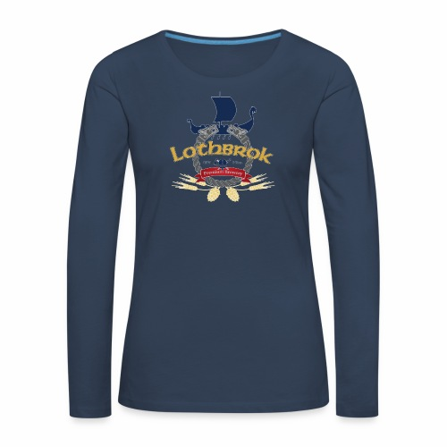 Lothbrok Premium Langarmshirt Frauen - Frauen Premium Langarmshirt