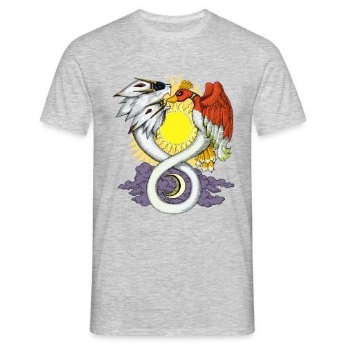 Azoth : heather grey - Men's T-Shirt