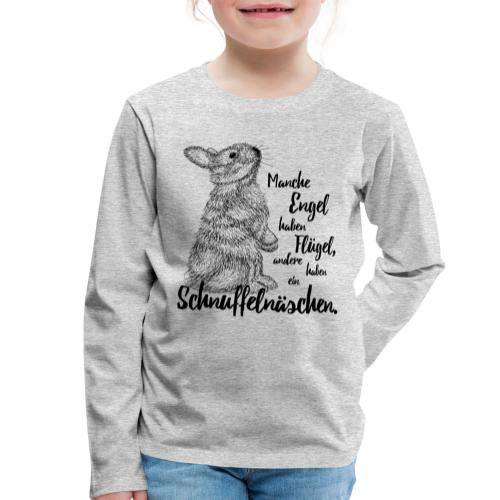 Engel mit Schnuffelnäschen - Kinder Premium Langarmshirt