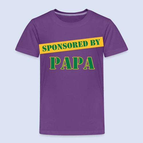 SPONSORING - Sponsored by Papa - Kinder Premium T-Shirt