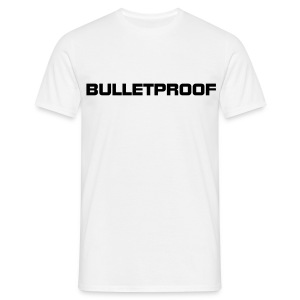 Bulletproof White - Men's T-Shirt
