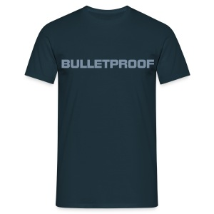 Bulletproof Navy - Men's T-Shirt