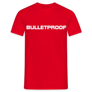 Bulletproof Red - Men's T-Shirt