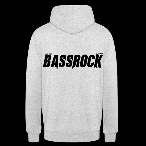 DJT.O BASSROCK PULLOVER GREY/WHITE - Unisex Hoodie