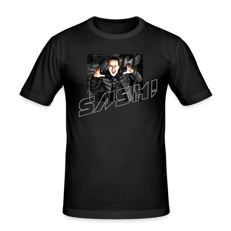 DJ SASH! scream - Men's Slim Fit T-Shirt