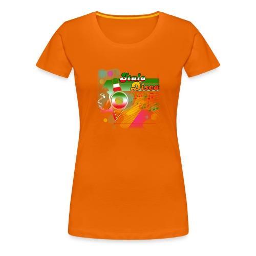 Italo Disco Lover Women's Premium T-Shirt - Premium T-skjorte for kvinner
