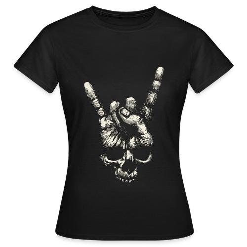 Mano Skull - Camiseta mujer