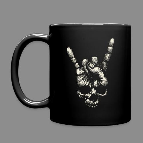 Mano Skull - Taza de un color