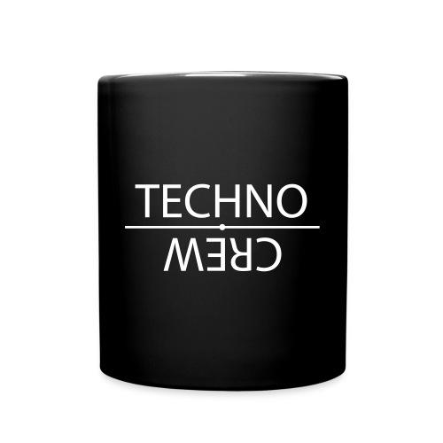 Tasse einfarbig - Technocrew,Techno