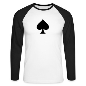 POKER PIC - T-shirt baseball manches longues Homme