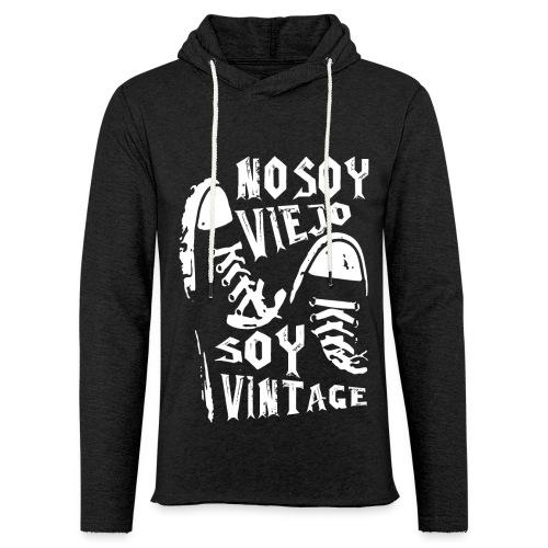 Soy Vintage - Sudadera ligera unisex con capucha