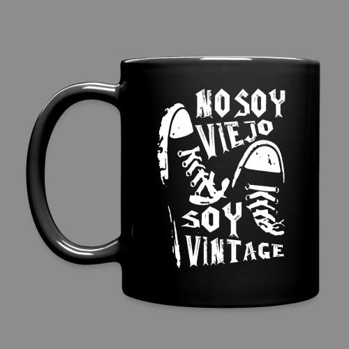 Soy Vintage - Taza de un color