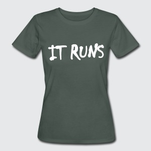 it runs - Frauen Bio-T-Shirt