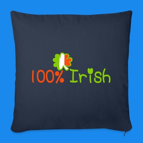 ♥ټ☘I'm 100% Irish-Irish Power Pillow Cover☘ټ♥ - Sofa pillow cover 44 x 44 cm
