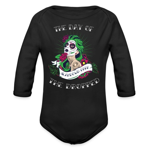Dropped Baby One-piece - Organic Longsleeve Baby Bodysuit