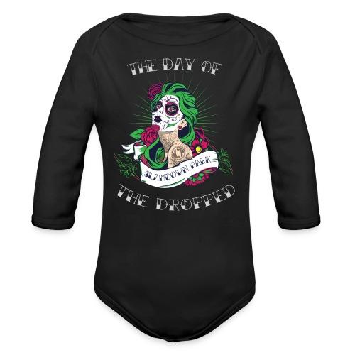 Dropped Baby One-piece - Organic Longsleeve Baby Bodysuit