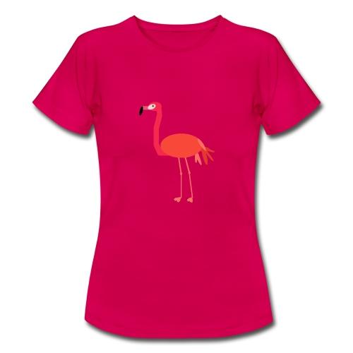 Der Flamingo Gudrun - Frauen T-Shirt