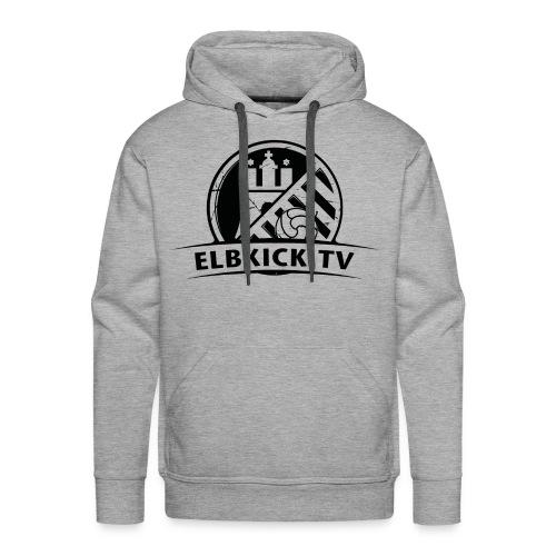 ELBKICK.TV Hoodie / grau  - Männer Premium Hoodie