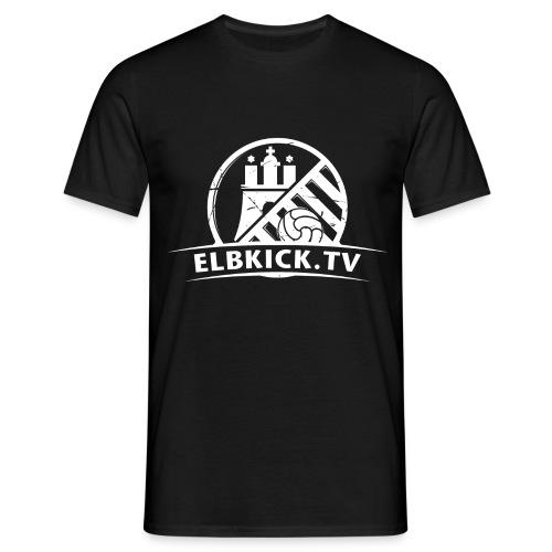 ELBKICK.TV  T - Shirt / schwarz  - Männer T-Shirt