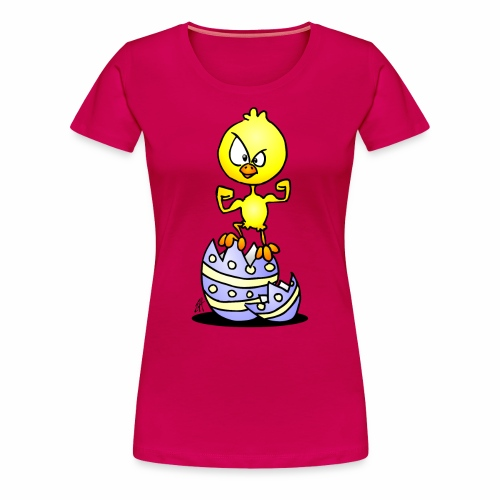 Easter Chick - Women's Premium T-Shirt