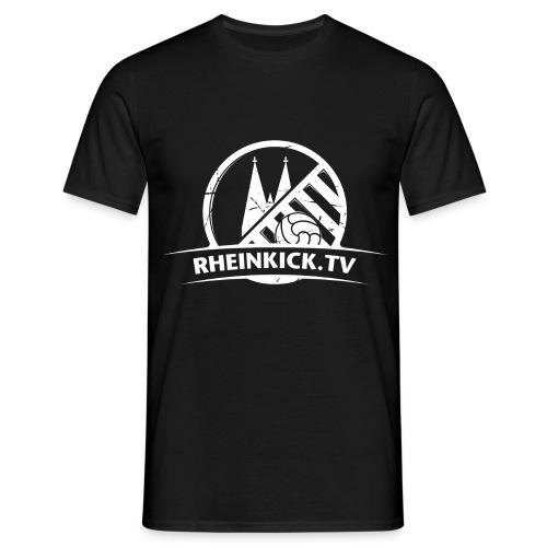 RHEINKICK.TV T-Shirt / schwarz   - Männer T-Shirt