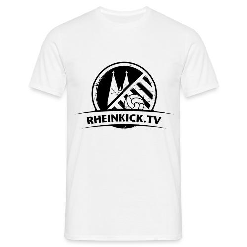 RHEINKICK.TV T-Shirt / weiß  - Männer T-Shirt