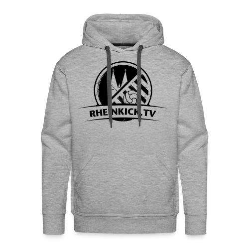 RHEINKICK.TV Hoodie / grau  - Männer Premium Hoodie
