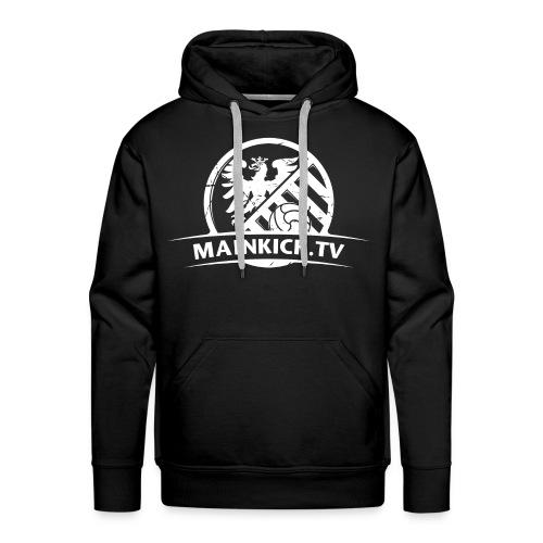 MAINKICK.TV Hoodie / schwarz   - Männer Premium Hoodie