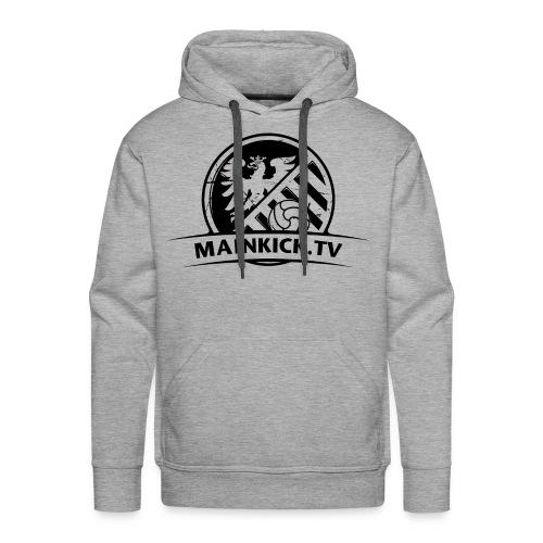 MAINKICK.TV  Hoodie / grau  - Männer Premium Hoodie